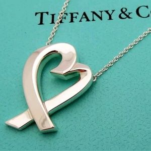 Authentic Tiffany Paloma Picasso Heart Necklace